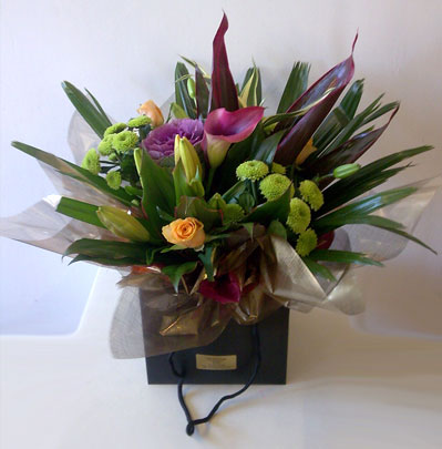 Occasion Flowers Bolton Bubble bags from £22.00