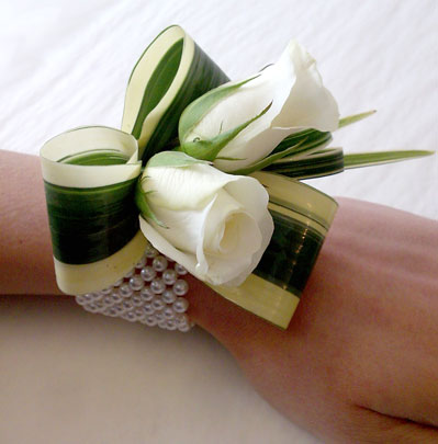 Wedding Flowers Bolton, Wrist Corsage